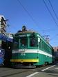 阪堺電軌モ161形 (松虫駅付近)