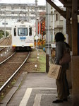 阪堺電軌モ501形(帝塚山四丁目駅)
