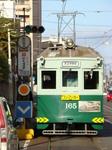 阪堺電軌モ161形(帝塚山三丁目駅)