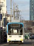 阪堺電軌モ701形&モ161形(帝塚山三丁目〜姫松)