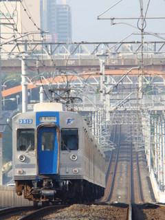 泉北高速3000系(栂・美木多駅から)