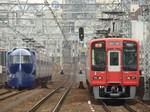 南海50000系ラピート&2300系ズームカー(今宮戎駅から)