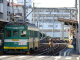 阪堺電軌モ161形(帝塚山四丁目駅)