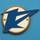 泉北高速鉄道のシンボルマーク。カタカナの「セ」と、百舌鳥の羽ばたきをイメージしています。