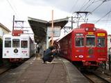 和歌山電鐵2270系いちご電車 & おもちゃ電車 (日前宮駅)