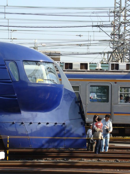 南海50000系ラピート & 6000系 ('09南海電車まつり)