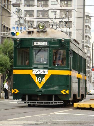 阪堺電軌モ161形 (住吉駅)