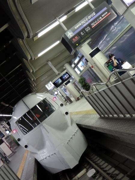 南海50000ラピート 「ハッピーライナー」 (なんば駅)