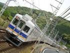 南海7100系&10000系サザン(孝子駅から)