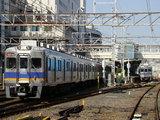 南海6300系(堺東1号踏切から)