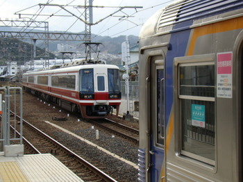11000系りんかん&6000系(三日市町駅から)