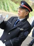 泉ヶ丘駅の一日駅長を勤められた漫画家・松本零士先生。