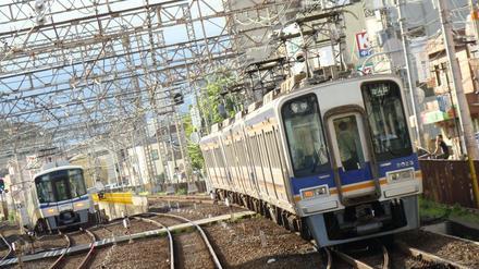 泉北高速7020系&南海2000系ズームカー(中百舌鳥駅から)