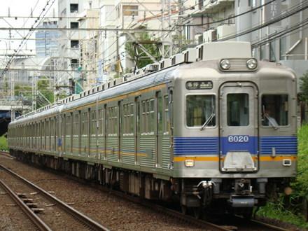 南海6000系(三国ヶ丘駅から)