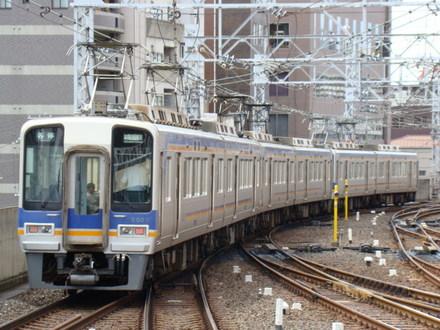 南海2000系ズームカー(なんば駅から)