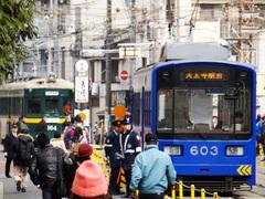 阪堺電軌モ161形 & モ601形 (住吉駅付近)