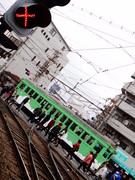阪堺電軌モ161形 (住吉交差点)