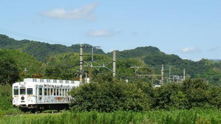 和歌山電鐵2270系(伊太祁曽〜山東間)