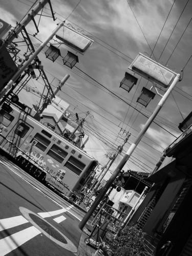 モ601形 (東天下茶屋駅付近)