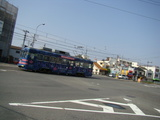 モ351形(大道筋・御陵前交差点)