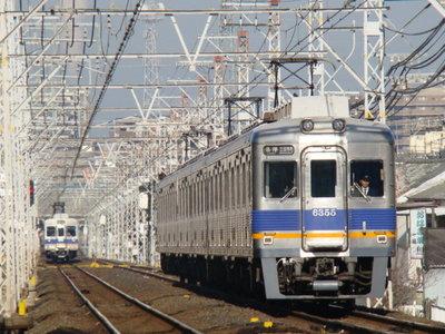 6200系&6300系(初芝駅から)