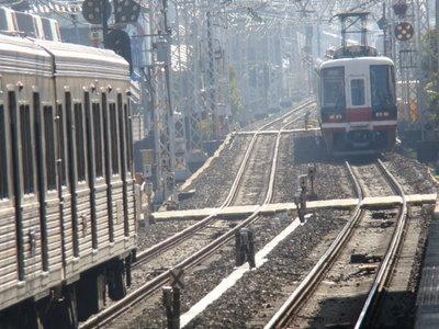 6200系&11000系りんかん(初芝駅から)