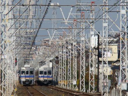 6300系&6200系(初芝駅から)