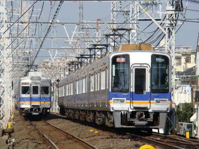 6000系&2000系ズームカー(初芝駅から