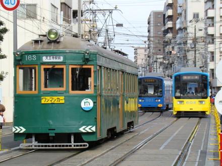 モ161形&モ601形(住吉駅)
