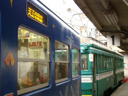 モ351形&161形(住吉公園駅)