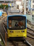 モ701形(南海・住吉大社駅のコンコースから)
