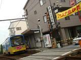 モ601形(船尾駅付近)