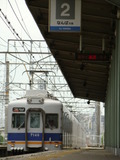 7100系(井原里駅・上りホーム)