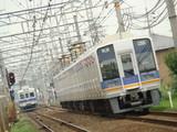 7000系&1000系(井原里駅・上りホームから))