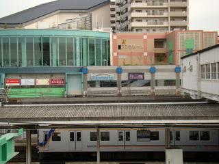 7100系(西側連絡橋から)