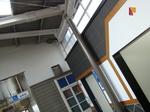萩原天神駅の駅舎とトイレ。