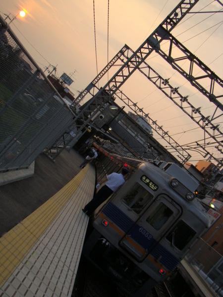6300系(萩原天神駅)