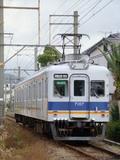 7100系・ワンマン改造車 (紀ノ川4号踏切から)