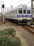 7100系・ワンマン改造車 (東松江駅から)