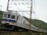7100系(みさき公園12号踏切から)
