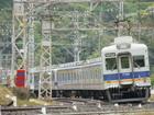 7000系+7100系(孝子駅付近)