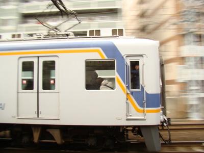 南海7100系 (今宮戎駅から)