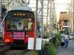 モ701形(高須神社3号踏切付近)