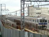 7000系+7100系(府道38号線の歩道橋から)