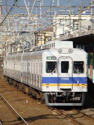 7000系+7100系(上りホームから)