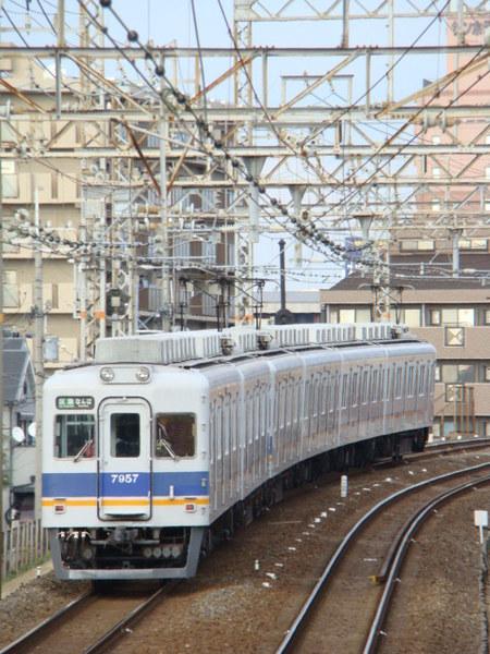 7100系(下りホームから)