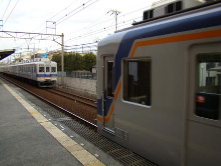 7100系(上りホームから)