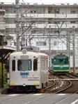 阪堺電軌モ501形&161形(帝塚山四丁目駅)