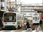 阪堺電軌モ701形&501形(帝塚山四丁目駅)