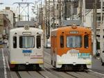 阪堺電軌モ501形(帝塚山四丁目駅から)